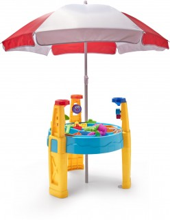 Sand-and-Water-Table-with-Umbrella on sale
