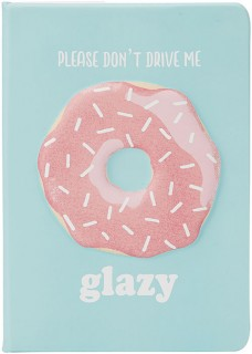 Please-Dont-Drive-Me-Glazy-Journal on sale
