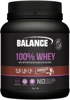Balance-100-Whey-Protein-Chocolate-750gm on sale