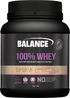 Balance-100-Whey-Protein-Cookies-Cream-750gm on sale