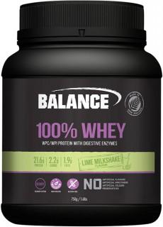 Balance-100-Whey-Protein-Lime-Milkshake-750gm on sale