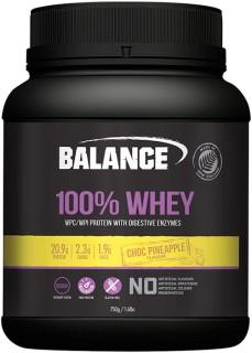 Balance-100-Whey-Protein-Choc-Pineapple-750gm on sale