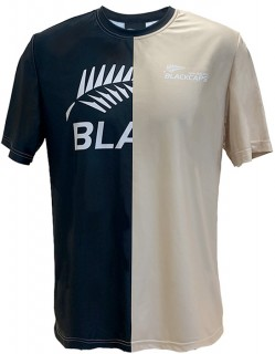 Blackcaps-Adults-2020-Supporters-Split-Logo-T-Shirt on sale