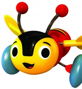 Buzzy-Bee-Wooden-Toy on sale
