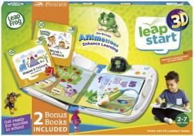 Leap-Frog-LeapStart-3D-with-2-Bonus-Books-Bundle-Green on sale