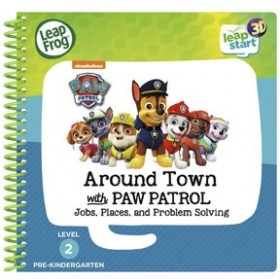 NEW-Leap-Frog-Leapstart-3D-Books-Around-Town-with-Paw-Patrol on sale