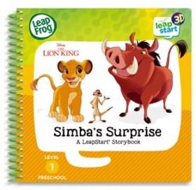 NEW-Leap-Frog-Leapstart-3D-Books-Lion-King-Simbas-Surprise on sale