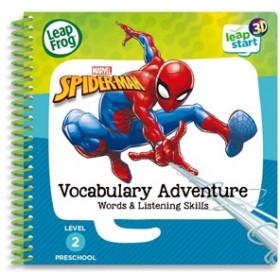NEW-Leap-Frog-Leapstart-3D-Books-Marvel-Spiderman-Vocabulary-Adventure on sale