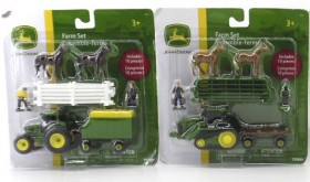 John-Deere-10-Piece-Mini-Farm-Set-Assortment on sale