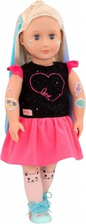 Our-Generation-18-Doll-Luana-With-Glitter-Tattoo on sale