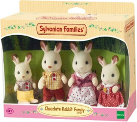Sylvanian-Families-Chocolate-Rabbit-Family-4-Pack on sale