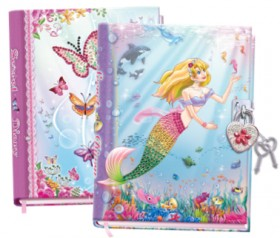Diary-with-Lock-Assortment on sale