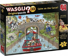 Wasgij-1000-Piece-Puzzle-33-Calm-On-The-Cannal on sale