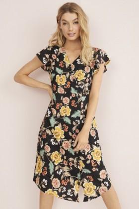 34-Floral-Button-Dress on sale