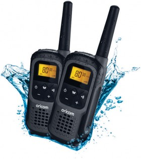 Oricom-2W-UHF-Handheld-Radio-Waterproof-2pk on sale