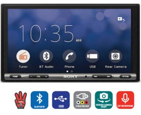 Sony-6.95-AV-Apple-CarPlay-Android-Auto-Bluetooth-USB-Tuner on sale