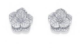Sterling-Silver-Cubic-Zirconia-Stud-Earrings on sale