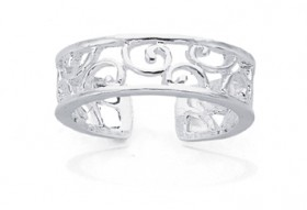 Sterling-Silver-Toe-Ring on sale
