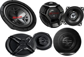 25-off-Sony-JVC-Pioneer-Speakers-Subs-Amps on sale
