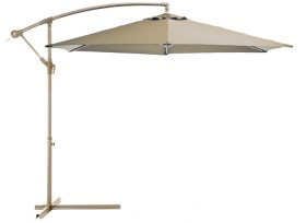 Outdoor-Creations-Offset-Taupe-Market-Umbrella on sale