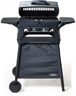 Goldair-BB-Cube-2-Burner-BBQ-With-Trolley on sale
