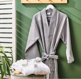 Esprit-Waffle-Bathrobes on sale