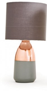 Tablefair-Marseille-Copper-Colour-Table-Lamp on sale