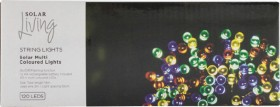 120-LED-Multi-Colour-Solar-String-Lights on sale