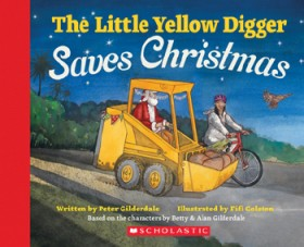 The-Little-Yellow-Digger-Saves-Christmas on sale