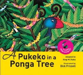 A-Pukeko-in-a-Ponga-Tree on sale