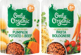 Only-Organic-Baby-Food-Pouch-170g on sale