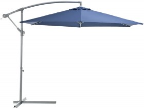 Outdoor-Creations-Offset-Market-Umbrella-With-Blue-Shade on sale