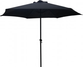 Outdoor-Creations-Black-Aluminium-2.7m-Market-Umbrella on sale