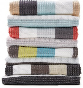 Just-Home-Pop-Stripe-Tea-Towels on sale