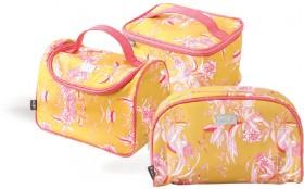 Kas-Carroway-Mustard-Vanity-Case-Carry-Wash-Bags on sale