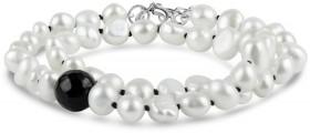 Baroque-Pearl-and-Onyx-Wrap-Bracelet-Choker on sale