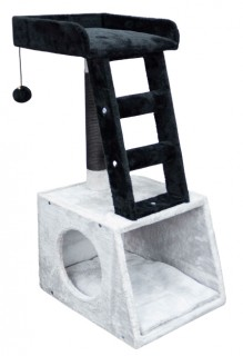 Cubby-and-Ladder-Cat-Scratcher-41x35x77cm on sale