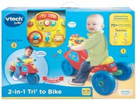 Vtech-2-in-1-Tri-To-Bike-Blue on sale