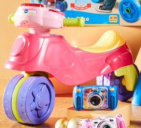 Vtech-2-in-1-Tri-To-Bike-Pink on sale