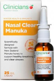Clinicians-Nasal-Clear-Manuka-Spray-25mL on sale