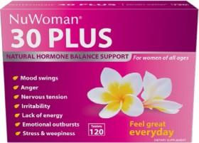 NuWoman-30-Plus-Hormone-Balance-120-Tablets on sale