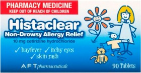 Histaclear-Allergy-Relief-10mg-90-Tablets on sale