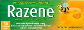 Razene-10mg-30-Tablets on sale