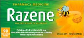 Razene-10mg-90-Tablets on sale