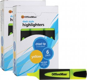 OfficeMax-Desk-Style-Highlighters on sale