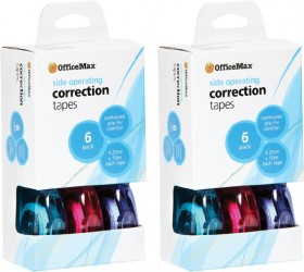 OfficeMax-Side-Operating-Correction-Tape on sale