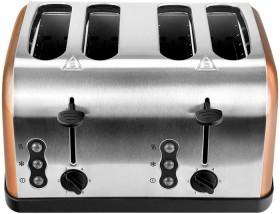 Brabantia-Copper-Colour-4-Slice-Toaster on sale