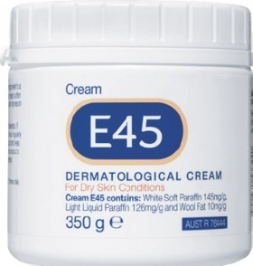 E45-Cream-350g on sale