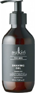 Sukin-Mens-Shaving-Gel-225ml on sale