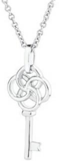 Key-Pendant-in-Sterling-Silver on sale